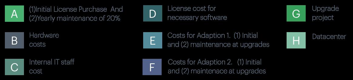 Förklaring kostnader som döljer sig i en installerad IT-lösning
