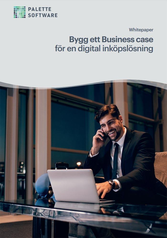 Bygg ett business case för en digital inköpslösning